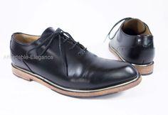 JOHN FLUEVOG Mariella Yale Modvogs 8 Black Leather Oxford Shoes Mod Vogs Lace Up #JohnFluevog #Oxfords #Casual