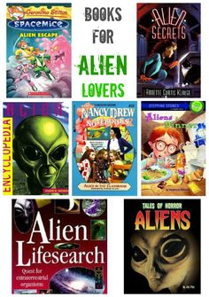 Out-of-this-world book suggestions for kids who love aliens.