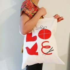 LOVE Tote Bag #bag