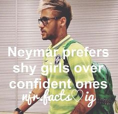 well then I guess that makes me his woman :) Neymar Jr, Football Soccer, Football Players, Neymar Quotes, Shy Girls, Funny Times, Sports Memes, Lionel Messi, Girls Dream