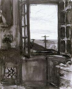 Richard Diebenkorn, Untitled, Ink Wash