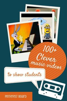 100 Clever music videos to show students | Midnight Music