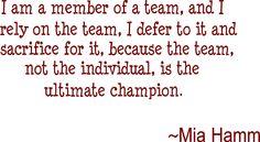 Love my team <3