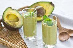 avocado and coconut smoothie