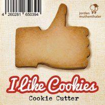 i like cookies !!    Für alle Cookie-Monster, die Kekse nicht nur zur Weihnachtszeit mögen: der Ganzjahreskeksausstecher und zugleich der lässigste Cookie-Cutter der Welt.    Share your cookies!
