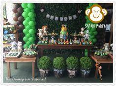 Organize sem Frescuras | Rafaela Oliveira » Arquivos » Safari Party- decoração de aniversário criativa e original