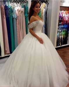 Cheap princess wedding dresses, Buy Quality ball gown wedding dresses directly from China wedding dress Suppliers: Luxury Vintage Bride Bridal Lace Ball Gown Wedding Dresses Gowns vestido de noiva robe de mariage Princess Wedding dress Off Shoulder Wedding Dress, Wedding Dress Train, Sweetheart Wedding Dress, Wedding Dress Sleeves, Muslim Wedding Dresses, Dream Wedding Dresses, Bridal Dresses, Wedding Gowns, Tulle Wedding