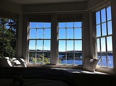 View from one of our rooms ~ Salt Spring Island Getaway Reading Corners, Home Libraries, Bookshelves, Salt, Canada, Rooms, Windows, Island, Spring
