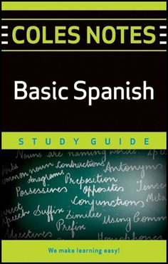 Coles Notes Study Guides  Basic Spanish