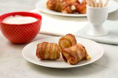 Bacon-Wrapped Mozzarella Sticks
