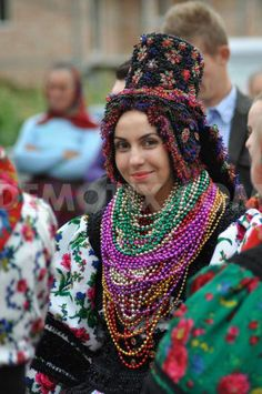 Traditional wedding at Maramures, Romania