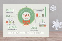 Holiday Infographics by Frooted Design at minted.com