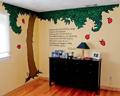 want this wall for a library