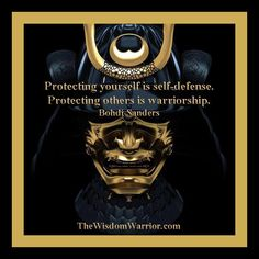 Protecting yourself is self-defense. Protecting others is warriorship. Bohdi Sanders - The Gentleman Warrior Warrior Spirit, Warrior Quotes, Samurai Quotes, Warrior Within, Ju Jitsu, Musashi, Historical Pictures, Self Defense, Usmc
