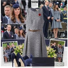Kate Middleton stunning to a commemorative ceremony at Australia's War Memorial on Anzac Day.