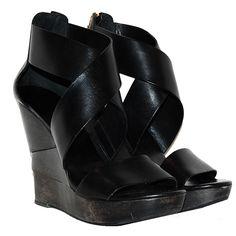 Diane Von Furstenberg Black Wedges http://www.consignofthetimes.com/product_details.asp?galleryid=6976