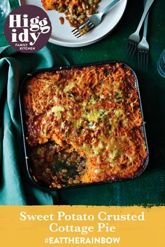Our Sweet Potato Crusted Cottage Pie is a brilliant dinner for the whole family. Click here to find the recipe: Can Of Beans, Vegetable Stock Cubes, Potato Mashers, Cottage Pie, Eat The Rainbow, Family Kitchen, Mashed Sweet Potatoes, Pie Dish, Cheddar Cheese