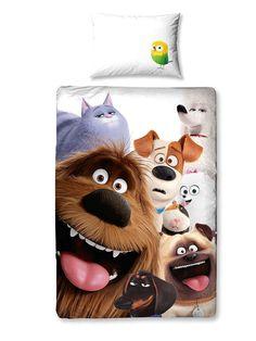 The Secret Life Of Pets Animals Single Duvet Cover Set Polycotton