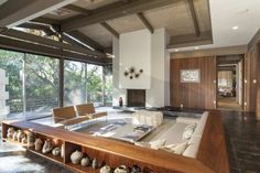 Known as the Strimling Residence, this handsome Encino post and beam was designed by Ray Kappe and built in 1964. Last sold three years ago for $1.58 million, it's now down-low pocket-listed, but...