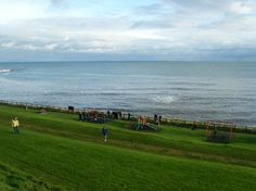 The children's play park is only two minutes walk from Sandcastle Cottage at Roome Bay Crail