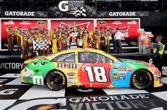 Duels at Daytona 2013 Nascar Cars, Race Cars, Altar, Kyle Bush, Daytona 500, Checkered Flag, Sports Car Racing, My Ebay, Vehicles