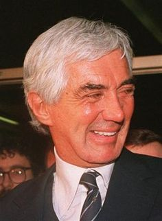 """John DeLorean (1925 - 2005)Founder of the DeLorean Motor Company and producer of the stainless steel, gull-winged car that bore his name (and was featured in the """"Back to the Future"""" movies), in a famous trial he was acquitted of involvement in a drug dealing scheme to save his company from bankruptcy"""