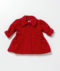 il Completo Girls Red Bianca Jacket, exclusive to Odile