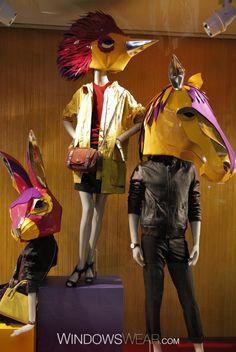 The World's Best Fashion Window Displays of 2014 | WindowsWear Awards / Coach, Hong Kong, November 2014