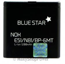 BATTERIA ORIGINALE BLUE STAR 3,7V 1200mAh PILA RICAMBIO AGLI IONI DI LITIO LI-ION PER NOKIA E51 N81 N82 6720 NUOVA - SU WWW.MAXYSHOPPOWER.COM