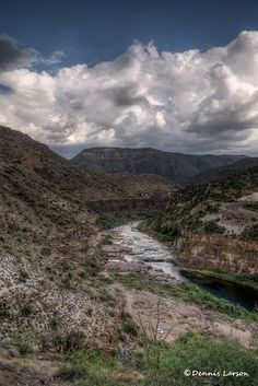 Salt River Canyon by Desert Bug, via Flickr