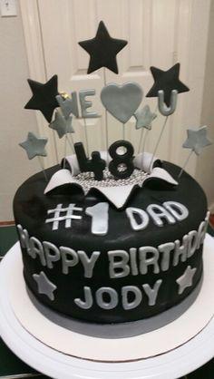Amy's Crazy Cakes - Happy Birthday, #1 Dad Cake