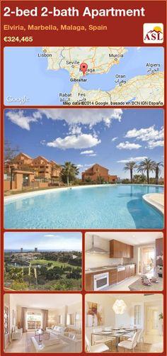 2-bed 2-bath Apartment in Elviria, Marbella, Malaga, Spain ►€324,465 #PropertyForSaleInSpain