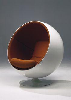 Ball chair by Eero Aarnio, 1966.