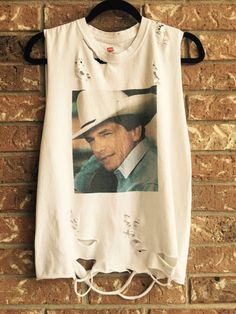 George Strait country distressed awesome t shirt by Cranberrymoons