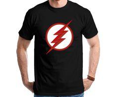 The Flash - Black Flash Logo Tshirt Camiseta Camisa Tee