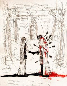 Wish you were here (Theon Greyjoy and Robb Stark) by ~t-funster on deviantART #got #agot #asoiaf