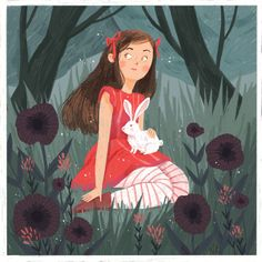 Alice 🐰👧🏻🌿 Made with the amazing pack… Character Concept, Character Art, Concept Art, Character Design, Mythical Creatures, Alice In Wonderland, Illustration, Aurora Sleeping Beauty, Photo And Video