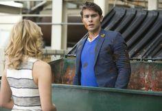 Quinn Fabrey and her new boyfriend Biff McIntosh in episode '100' of Glee!