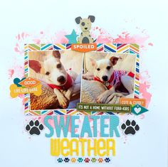 Sweater Weather - Scrapbook.com