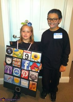 Steve Jobs and his iPad - 2012 Halloween Costume Contest