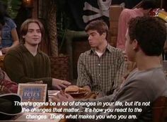 "Eric Matthews' Best 28 Lines On ""Boy Meets World"" Boy Meets World Quotes, Girl Meets World, Tv Show Quotes, Movie Quotes, Cory And Topanga, World Tv, Disney Shows, The Good Old Days, Movies Showing"
