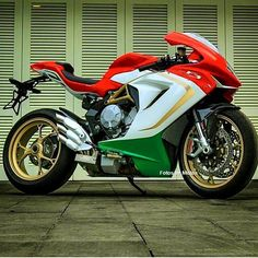 "MV Agusta F4, not sure whether I want to ride it or ""RIDE"" it, if you know what I mean..!!"