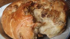 Receita de brioche com abóbora grattons (bacon) para gratons - O famoso pom . Berry, Bacon, Lard, Caramel, Meat, Chicken, Cooking, Bourbon, Croissants