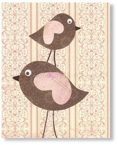Kids Wall Art Modern Nursery By Ozscape Designs Charming Irations Pinterest Nurseries Bird And Baby Decor