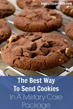 """The Best Way To Send Cookies In A Military Care Package"" by Heather of Happyfitnavywife.com 