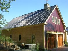 Simple modern home created in a rural vernacular metal for 24x24 modern house
