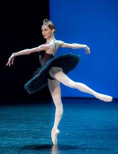 Iana Salenko in Swan Lake at the Gala des Etoiles 2015. Photo by Jack Devant