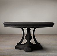 St. James Round Dining Table (antique black finish). Nice table, potential option for our conference room?