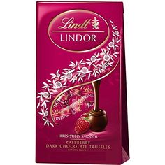 Lindt Lindor Raspberry Dark Chocolate Truffles, 6 Oz (Pack of 3) - http://bestchocolateshop.com/lindt-lindor-raspberry-dark-chocolate-truffles-6-oz-pack-of-3/