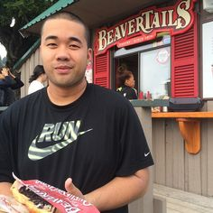 After climbing the Grouse Grind, you have definitely earned your BeaverTails pastry! via Mr. Navarra (@francistrains) on Instagram